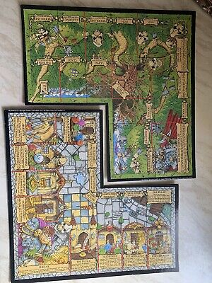 Talisman 3rd Edition City Of Adventure Boards Forest & City - Games Workshop • 26.99£