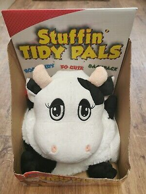 New, Stuffin Tidy Pals-Cow • 3£