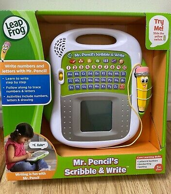 Leap Frog Mr. Pencil's Scribble & Write Educational Toy Learn Letters Numbers • 24.99£