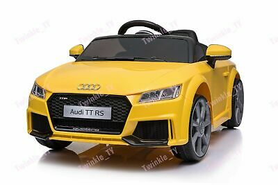 Official Licensed 12v Audi Tt Rs Kids Ride On Electric Car • 109.99£