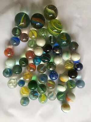 Old Glass Marbles • 1£