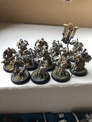 Exlemplar Errent With Officer And Standard. Unit. Protectorate Of Menoth. • 45£