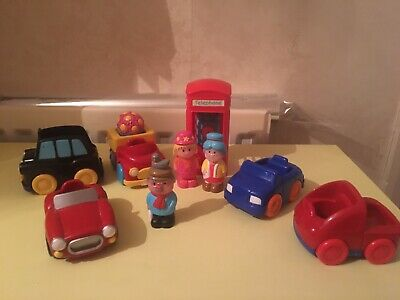 Happyland  Taxi And Working Telephone Box • 2.70£