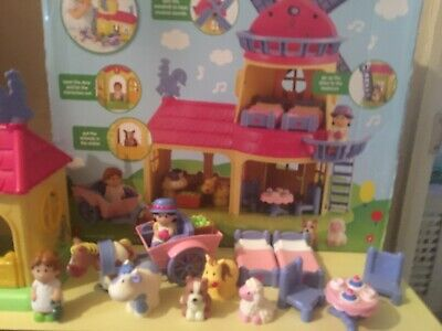 Elc Happyland Windmill Farm With Sounds Figures And Furniture  • 8£