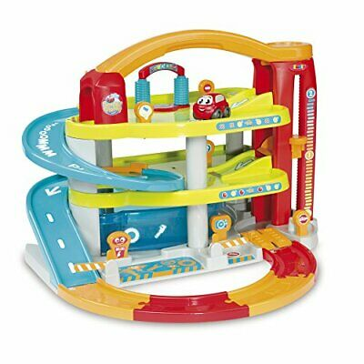 Smoby 120401 My Big Toy Car Garages For Boys And Girls | 3 Levels | Features • 84.99£