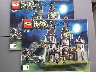 Lego Monster Fighters Instructions Only -  9468 • 5£