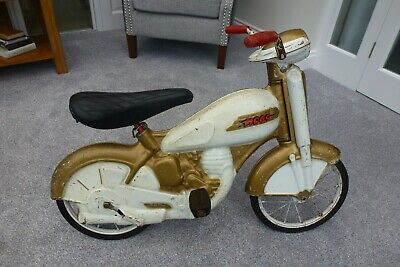 Antique 1960s Metal Pedal Motorbike By Mobo Excellent Condition For Age • 89.99£