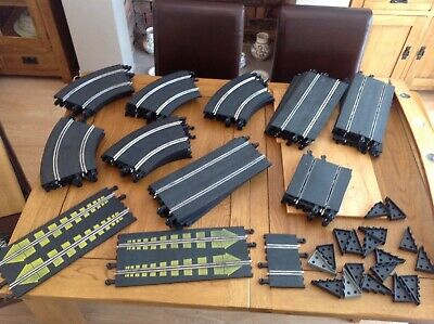 46 Pieces Of  SCALEXTRIC  VINTAGE CLASSIC TRACK And 18no Bridge Supports  • 5£