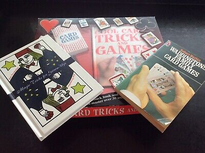 Card Tricks Kids Games Cards Books • 3.99£