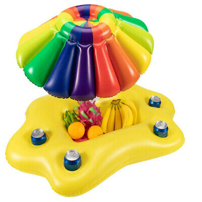 Inflatable Drink Holder Float Can Cup Hot Tub Swimming Pool Beach Party Bar • 4.99£