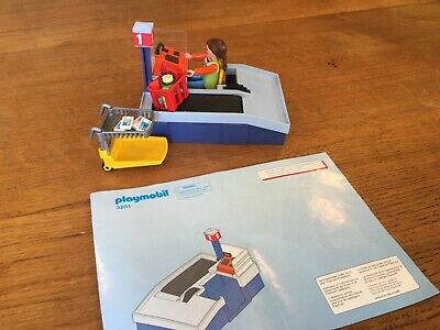 Playmobil 3201 Supermarket Checkout With Instructions • 3.99£