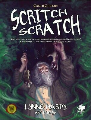 Call Of Cthulhu Scritch Scratch RPG Roleplaying Game Chaosium • 12.99£