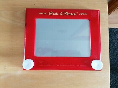 Etch A Sketch Magic Screen Fully Working Spin Master 2013 • 15£