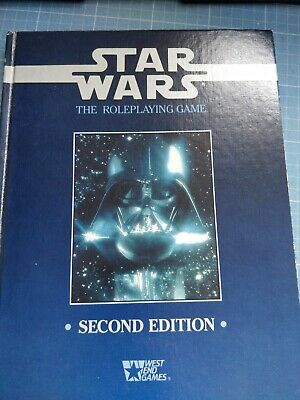 Star Wars The Roleplaying Game Second Edition West End Games • 5.60£