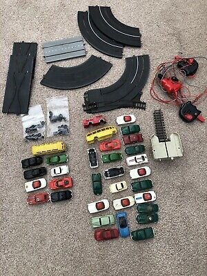 Vintage Tri-ang Minic Motorways Track And Cars And Bodies , Tyres Job Lot • 37£