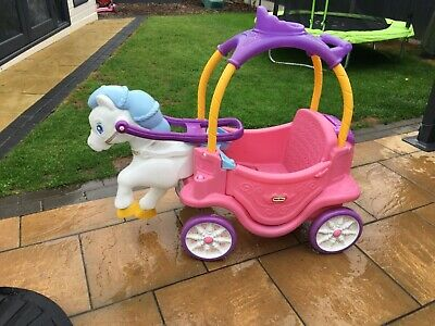 Little Tikes Princess Horse And Carriage Ride On • 21£