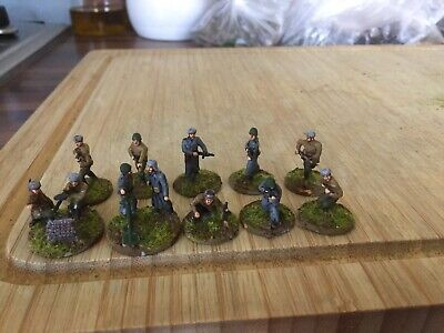 1/72 WW2 Russian Painted Infantry X12 • 6£