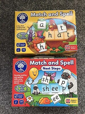 Orchard Games Bundle.  Match And Spell.  Phonics • 3£