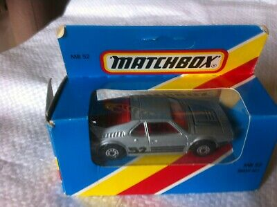 MATCHBOX MB 52 BMW M1, Box Has Been Opened • 2.90£