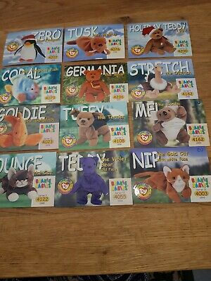 TY Beanie Babies Collector Trading Card Cards 1998 And 1999)  • 2£