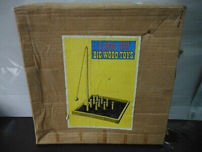 VINTAGE TRADITIONAL BAR SKITTLES Game New In Box Wooden Game  • 4.99£