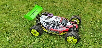 Hobao Hyper 7 1/8 Scale RTR Nitro RC Buggy With Spares • 140£