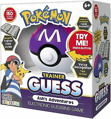Pokemon Trainer Electronic Guess Game - Ash's Adventures Edition • 22.99£