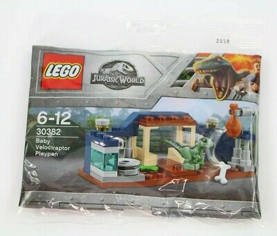LEGO Jurassic World 30382 Polybag - Baby Velociraptor Playpen - Brand NEW • 5.95£