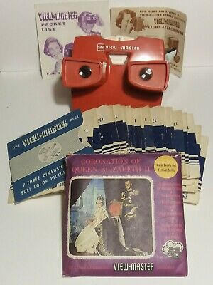 Vintage Viewmaster And Selection Of Reels • 16£