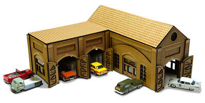 Old Works 1/64th Scale Garage Kit For Hot Wheels, Matchbox & Other Diecast Cars • 55.99£