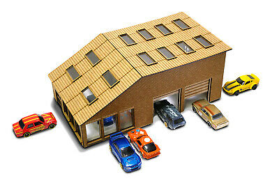 New Works 1/64th Scale Garage Kit For Hot Wheels, Matchbox & Other Diecast Cars • 44.99£