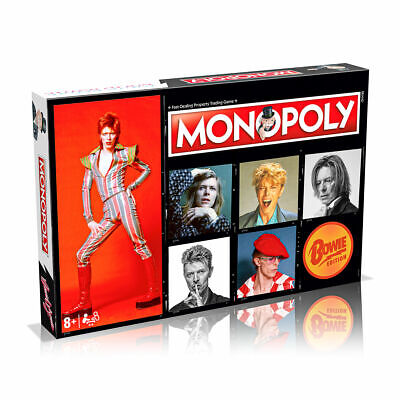 Wham Bam! David Bowie Comes To Monopoly Board Game • 38.99£