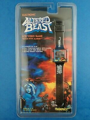 Vintage Unopened ALTERED BEAST VIDEO GAME WATCH Tiger Electronics LCD 1990 • 189.99£