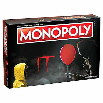 Stephen King's IT Comes To Monopoly Board Game • 34.99£