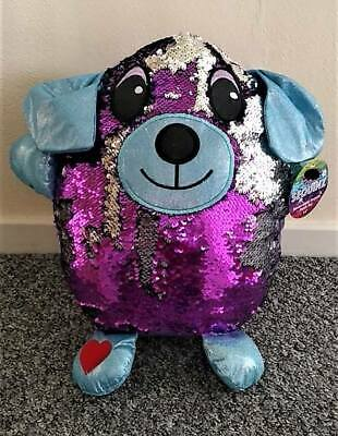Sequinz Reversible Sequin  14  Plush Toy Dog New • 14.99£