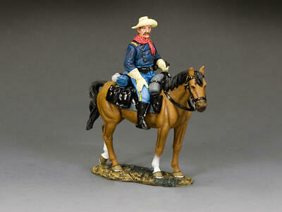 KING AND COUNTRY THE REAL WEST Mounted Cavalry Officer TRW171 • 119.95£