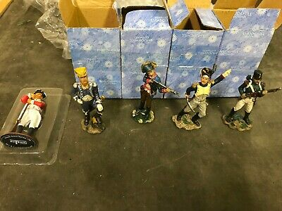 British Soldiers  7-8cm High Mini Collectables X 5  New • 15£