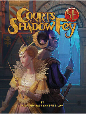 Courts Of The Shadow Fey Fifth Edition Dungeons & Dragons Roleplaying Game RPG • 26.99£