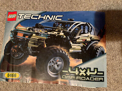 Lego Technic 8466  Instruction Manual Only • 9£