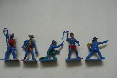 Vintage Crescent Toys Ltd Cowboys Blue • 6.99£