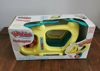 Weebles Air Rescue Helicopter Hasbro 2002  BOXED Rare Vintage Toy • 28.99£