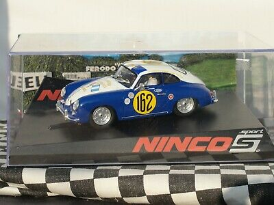 Ninco Porsche 356 'caminos' Blue/white #162 50616 1:32 Slot new Old Stock Boxed  • 79.99£