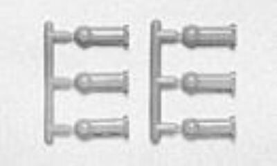 Tamiya 50633 4mm Adjuster (6 Pcs)  • 1.89£