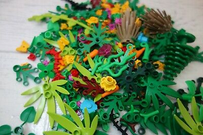 LEGO Foliage Pack 20 X Mixed Garden Accessories LEGO Flowers Stem Plants Trees • 4.99£