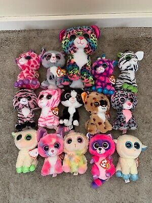 Huge Collection Of Beanie Boos • 2.50£