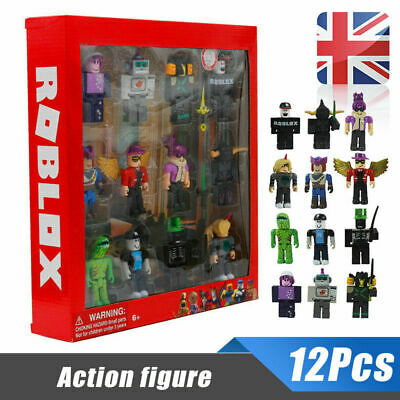12Pcs For Roblox Classic Game Series Character Action Figures For Gift Kid Toys • 13.68£