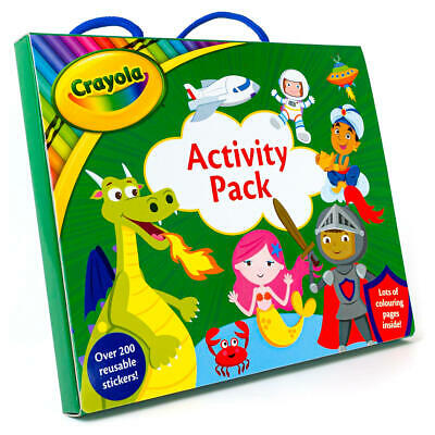 Crayola Activity Pack - Loads Of Colouring Fun With Colouring And Sticker Books • 6.99£