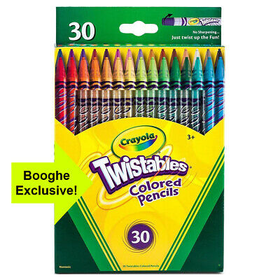 Crayola Twistables Coloured Pencils (Pack Of 30) • 11.99£