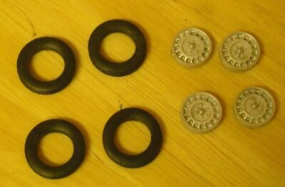 1/43rd Scale Disc Wheels Suitable For Cars With 20  Wheels By K&R Replicas • 3£