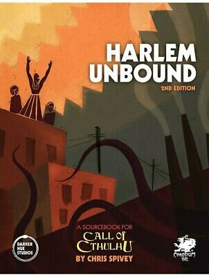 Call Of Cthulhu Harlem Unbound 2nd Edition RPG Roleplaying Game Supplement • 40.99£